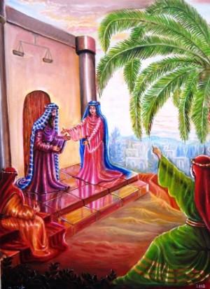 חכמות נשים בנתה ביתה - דבורה הנביאה